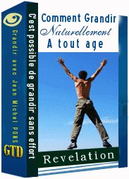 Avis Comment grandir naturellement à tout âge Par Jean Michel PONS