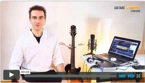 Avis Formation Guitare Studiopro Masterclass par Olivier Bessaignet Pdf Gratuit