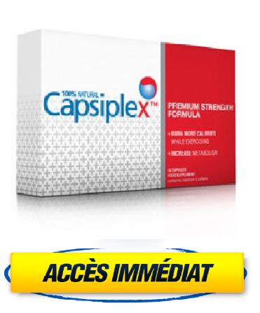 Avis Capsiplex - Pilules amincissantes Capsiplex - Vraiment la solution pour perdre du poids